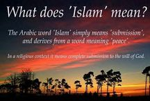 Islam / by Hasna Allaiouti