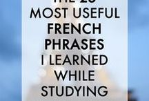 Je apprends le français / I am learning french!! Don't ask me why..