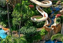 Resorts / Famous pretty beautiful large Luxurious fun resorts