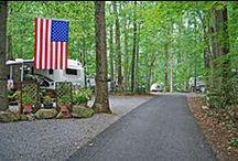 Seasonal Campsites / Ole Mink Farm offers seasonal campsites.  A seasonal vacation getaway that includes winter storage on your site!  Relax... Play... Get away...  www.oleminkfarm.com