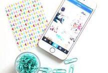 Réseaux sociaux / Les réseaux sociaux, Facebook, Instagram, Twitter, Pinterest...