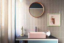 Salle de bains - inspiration MM² / #deco #salledebain #bathroom