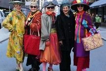 I Like Your Style / The over 50s inspire me to want to take photos of them in the street and pin them from other boards.  We are an ageless lot refusing to grow old invisibly, so this board is to celebrate our eccentricity & style!