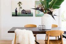 Salle à manger - inspirations MM² / Car la pièce à vivre, c'est important !