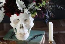 Deco chic Halloween - Inspiration MM² / Inspirations et idées de décoration chic pour Halloween.