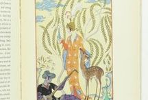 George Barbier - Original Watercolours and Illustrated Works