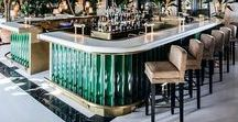 Hospitality Luxury Design & Bar Counters / Our lava stone surfaces, gray & glazed natural stone. Our luxury hospitality projects. Inspirational ideas.