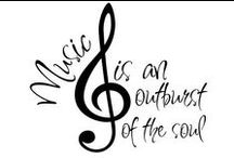 """For the Love of Music / """"Music is the voice of the soul"""" / by Lisa Smith Snarr"""