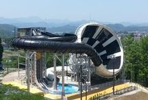 Waterparks / Images of waterparks and watersides from across the world, mostly taken from the watermark section of Blooloop.com