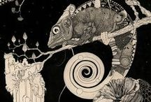 Animals in art / #animals #art #fish #birds #nature #reptiles #mammals #animal #creature #beast