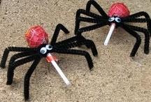 Spooktacular Halloween / Great Halloween treat and decoration ideas for teachers.