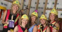 Hard Hat & Black Tie / The 2018 Hard Hat & Black Tie Gala will be Saturday, April 7th at The Depot-Minneapolis. The signature element of the evening is the fun we have mixing formalwear with construction gear. It's the only party in town where guests can wear Carhartt and Versace in the same ensemble! Take a look at this board for some inspiration on what to wear.