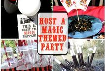 Magic Theme Birthday Party / Host a Magic Themed Birthday Party for kids