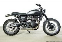 Scramblers / Scrambler Styled Machines - anything with knobblys!