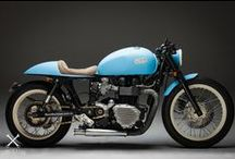 Cafe Racers / Triumph Twin Cafe Racers