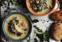 Soup Recipes / There is nothing like a bowl of homemade soup to warm you up when the winter winds are whipping outside. These four new soup recipes from the National Hot Dog & Sausage Council, perfect for lunch or dinner, are easy to make, affordable, delicious and tummy warming. / by National Hot Dog and Sausage Council