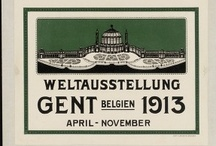 World's Fair 1913, Belgium, Ghent / The Ghent 1913 World Fair was an true heyday of the 'Belle Epoque'. Not only the 130ha large exhibition park, but also the radical tackling of the historical city centre bear witness of the typical nineteenth century conviction that social changes can be effected by government policies. Almost all 1913 World Fair source material in the Ghent University Library collection has been made available digitally here.