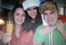 NINA DOBREV'S FAMILY / Nina Dobrev's lovely Family