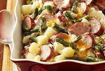 Casseroles (Sausage) / Delicious casseroles with our favorite main ingredient, sausage / by National Hot Dog and Sausage Council