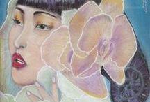 My Art works (Paintings)/ Mis obras