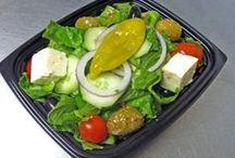 Green Leaf Salads / Green Leafy Ymminess!