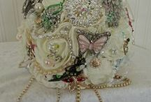 Brooch  wedding bouquets / Brooch bouquets and accessories. fabulous alternative for flowers