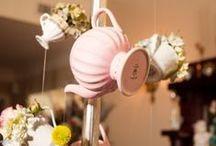 Tea Wedding Inspiration // Matrimonio a tema Té / Ispirazioni e idee per farti contagiare dallo stile di un matrimonio con tazze, teiere e zuccheriere: scopri la bellezza di un matrimonio a tema tea