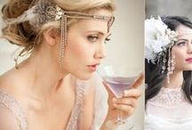20s wedding style // Matrimonio in stile anni 20 / Ispirazioni per un matrimonio a tema anni 20 20s wedding style inspiration