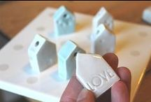 """""""little house"""" / handmade little house by Pompelmo-rosa"""