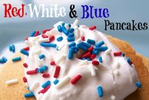 RED/WHT/BLUE / RED, WHITE AND BLUE EVERYTHING / by Sandy Dee