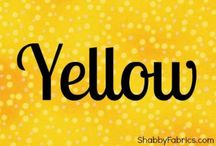 YELLOW / Yellow colors / by Sandy Dee