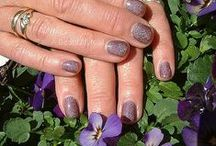Gelakte Nagels (Manicure) / Blank en gekleurde gelakte nagels #Manicure #Gelaktenagels #Nagels