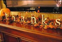 Fall Decorations / So many creative fall decorations! Where do you store the ones you use year after year? #organize #holiday storage