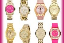 Relojes dorados/ Gold Watches