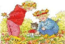 thema herfst / herfstdingetjes voor op school of thuis met de kids