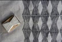 Block print - Linocut - dye / by Tonje Rogstad