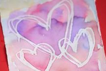 Valentine Crafts and Decor / Easy kids' valentines, lovely decor ideas and more. All the best Valentine's day projects pinned right here.