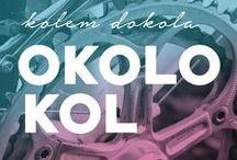 Kolem dokola okolo kol/ Round and round around the bicycles / http://okolokol.blogspot.cz/ Fotky z našeho prodejního blogu o kolech.