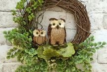 Spring Has Sprung! / Ideas for crafts and plants to help brighten up your house just in time for spring.