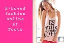 B-Loved @ Tootz.nl / B-Loved een trendy modelabel die bij www.tootz.nl verkocht wordt. B-Loved is voor de modebewuste vrouw. B-Loved staat garant voor kwaliteit en exclusiviteit. Bij Tootz worden de producten van B-Loved gratis naar je toegestuurd.