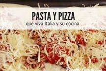 Pasta y Pizza / Las maravillas de la cocina italiana no son un secreto para nadie. Descubre las mejores recetas de pasta, pizza, lasaña y todos esos deliciosos platos famosos en Italia. Recetas fáciles, creativas y con las que sorprenderás a todos. #RecetasGratis #RecetasFáciles #Pizza #Pasta