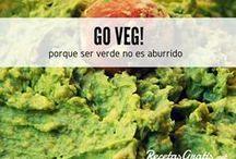 Veganos y Vegetarianos al poder / Déjate sorprender con platos creativos, sanos y sobre todo deliciosos. La cocina vegana y vegetariana no es aburrida. Descubre las mejores recetas fáciles y prepara todo tipo de platos... sanos y llenos de proteína vegetal. #RecetasGratis #Recetas #RecetasFáciles #ComidaVegana #ProteínaVegetal #ComidaSana #GoVeg #ComidaVegetariana #RecetasVeganas