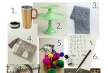 Gift and Shopping Guides / Links to all of those amazing gift guides and shopping round ups I stumble across online.