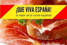 ¡España para comer! / Descubre lo mejor de toda la gastronomía española con los platos típicos y las recetas más tradicionales. Colores y mucho sabor es lo que sobra en los platos de la cocina española, encuéntralos todos aquí. #RecetasGratis #ComidaEspañola #CocinaEspañola #RecetasEspañolas #SpanishFood #España