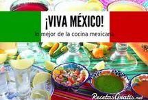 ¡Viva México! y su cocina / Recetas mexicanas de todo tipo, los platos más tradicionales de todos los rincones de México para que te deleites con sabores picantes, dulces y más! Descubre por qué la gastronomía mexicana es una de las más famosas del mundo. #RecetasGratis #RecetasMexicanas #ComidaMexicana #CocinaMexicana