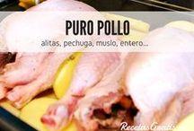 Plumas en la cocina / Si te gusta comer pollo todo lo que hay en este tablero te gustará. Recetas originales y platos increíbles con pollo, desde alitas hasta picantones, todo lo que se te ocurra que se puede comer con pollo seguramente está aquí. Échale un vistazo y quédate con los que más te gusten. #RecetasGratis #RecetasFáciles #RecetasdeCocina #Pollo #ChickenLovers