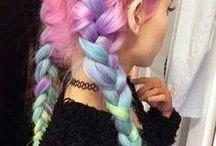 °Rainbow Hair°