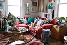 Rainbow Rooms / Interior design and decor inspiration from all the colors of the rainbow.