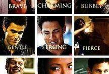 The Vampire Diaries!! <3