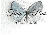 Tiny Pins❧ / The first group board devoted entirely to little pins!  A home for BEAUTIFUL, TINY-sized pins.  Remove all text and let's keep it PRETTY, please!   Thanks everyone!!   ❧Toni